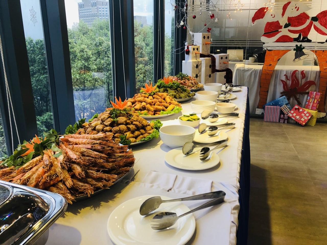 Đặc điểm của tiệc buffet