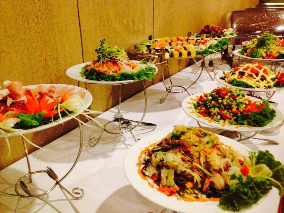 Các loại tiệc buffet phổ biến