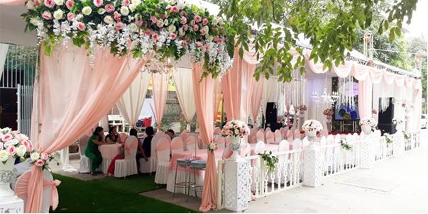 Dịch vụ tổ chức tiệc cưới tại nhà