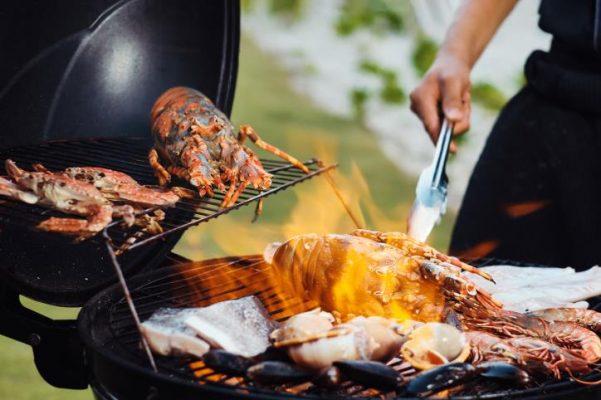 Nướng BBQ Hải sản tại nhà