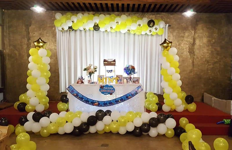 Hình ảnh tổ chức sinh nhật tại nhà