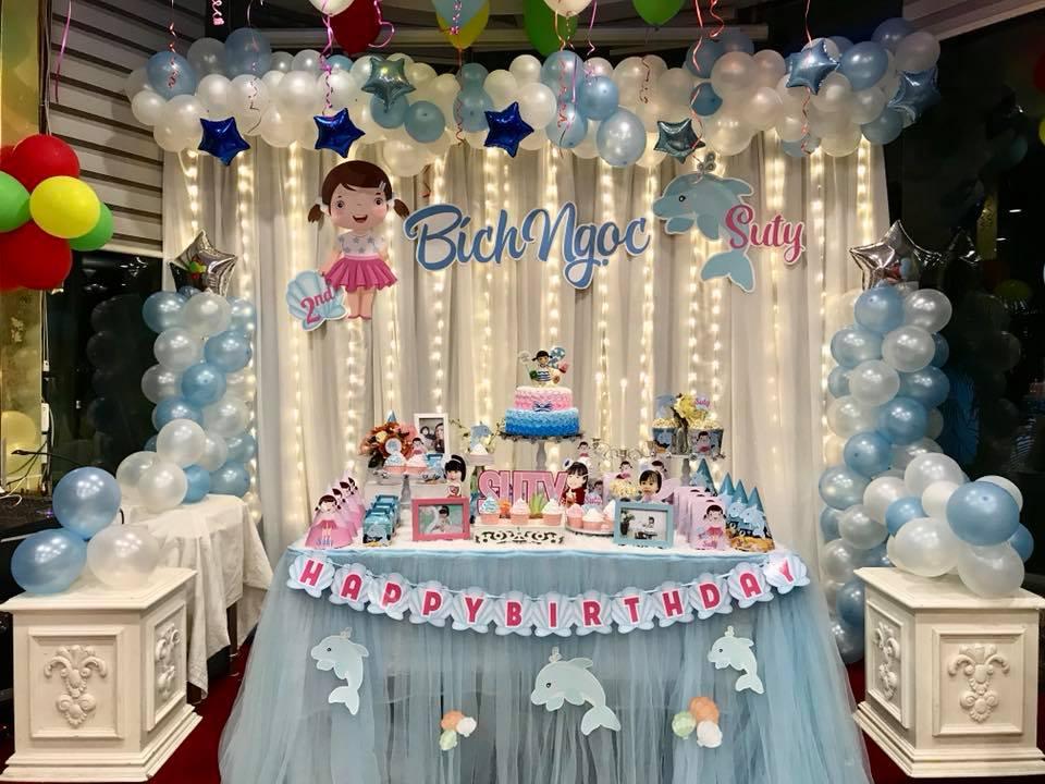 Tổ chức sinh nhật cho bé tại nhà