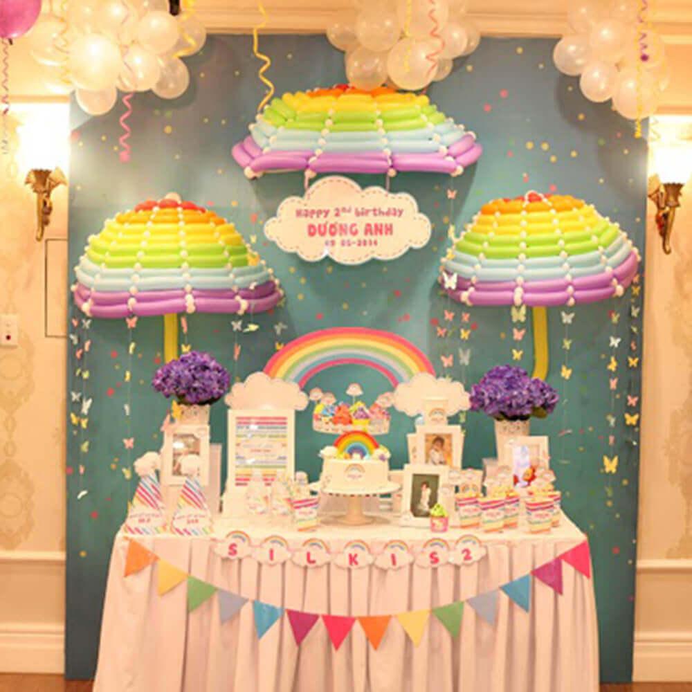 Tổ chức tiệc sinh nhật tại nhà