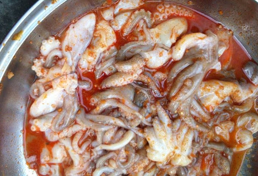 ướp hải sản nướng