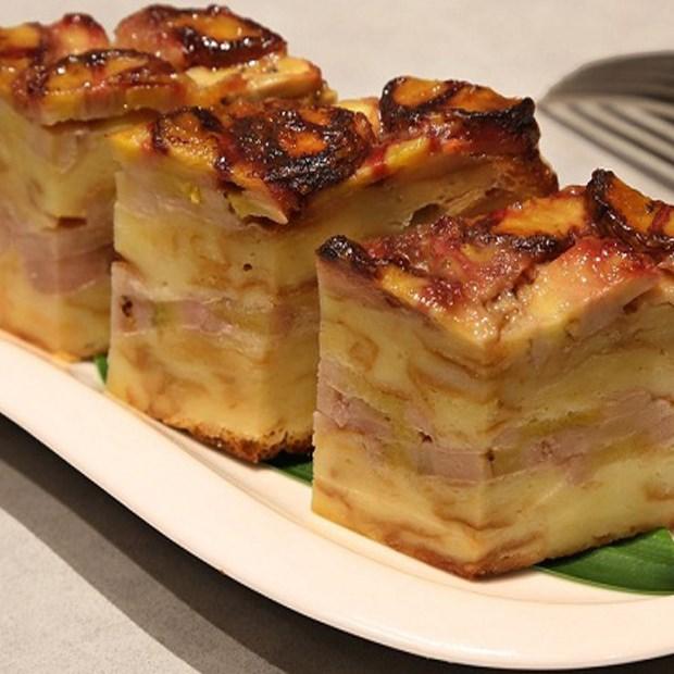 Cách làm bánh chuối nướng đỏ tươi không dầu