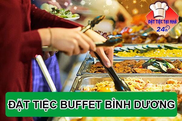 Dat tiec buffet tai nha o Binh Duong