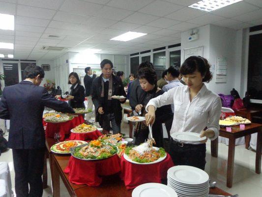 Tổ chức tiệc Buffet tại Long An