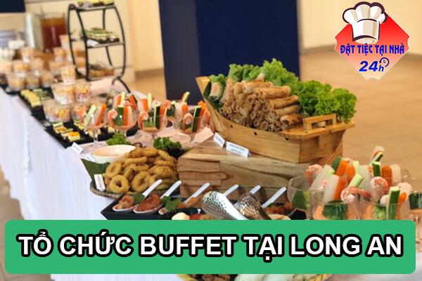 To chuc tiec buffet tai Long An