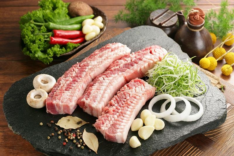Thịt heo nướng kiểu hàn quốc