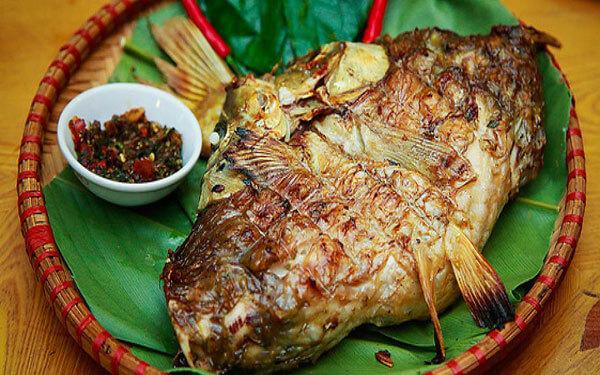 Cá nướng kiểu Lào