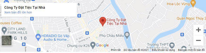 Google Map Đặt Tiệc Tại Nhà 24H