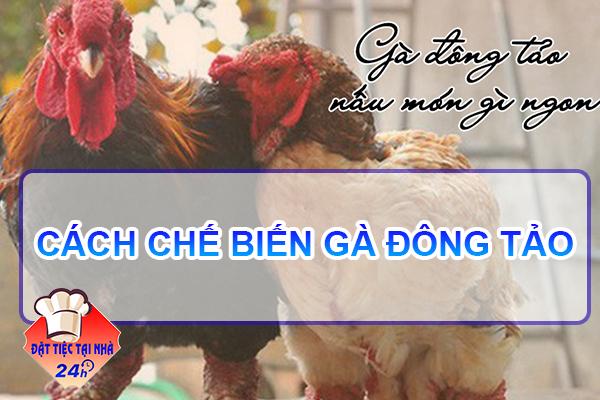 Cach che bien ga Dong Tao ngon