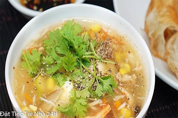 súp thịt heo
