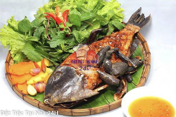 cá da bò nướng muối ớt