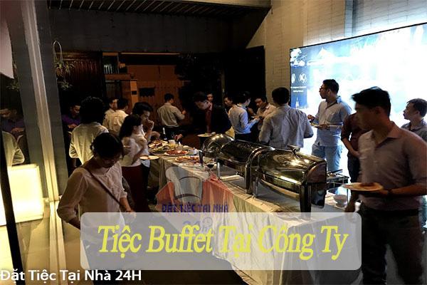 tiệc buffet công ty
