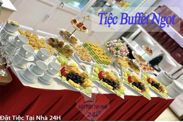 đặt tiệc buffet ngọt tại nhà