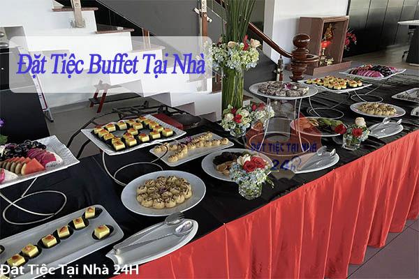 đặt tiệc buffet tại nhà