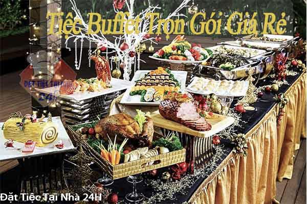 đặt tiệc buffet tại tphcm