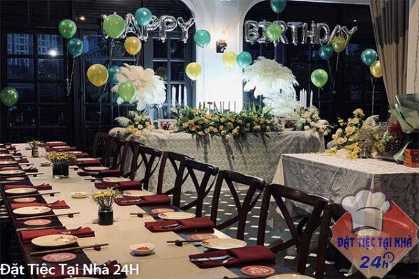 đặt tiệc sinh nhật tại tphcm