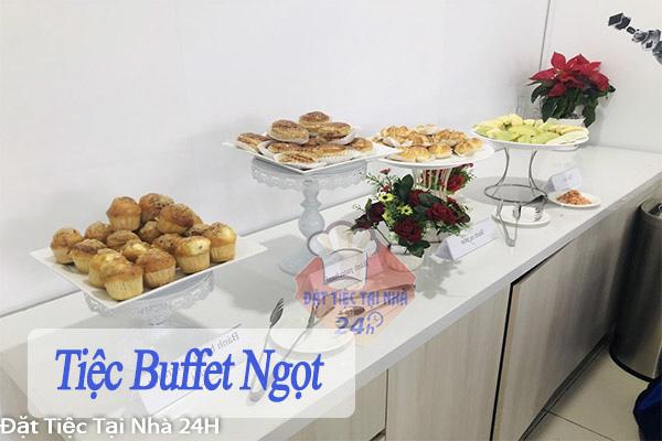 tiệc buffet ngọt tại công ty