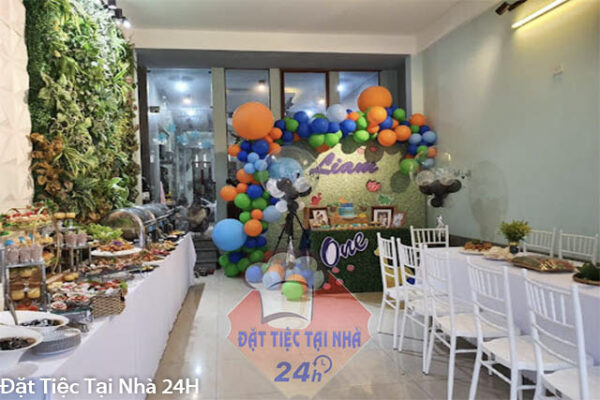 tổ chức tiệc sinh nhật bằng buffet