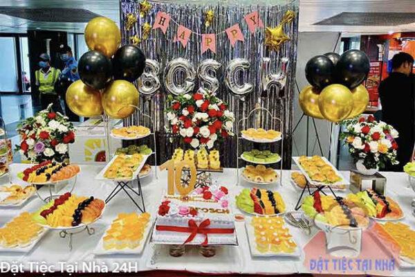 tiệc sinh nhật ngọt